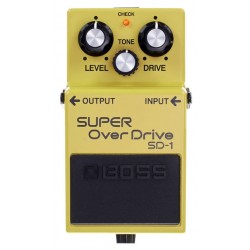 BOSS SD1 PEDAL SUPER DRIVE