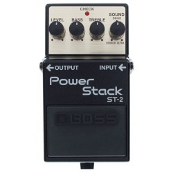 BOSS ST2 PEDAL POWER STACK DISTORSION
