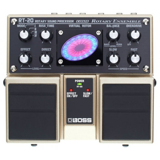BOSS RT20 PEDAL DOBLE ROTARY SOUND PROCESSOR