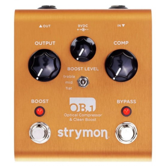 STRYMON OB1 CLEAN BOOST COMPRESSOR PEDAL