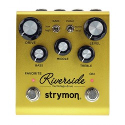 STRYMON RIVERSIDE MULTISTAGE DRIVE PEDAL OVERDRIVE DISTORSION