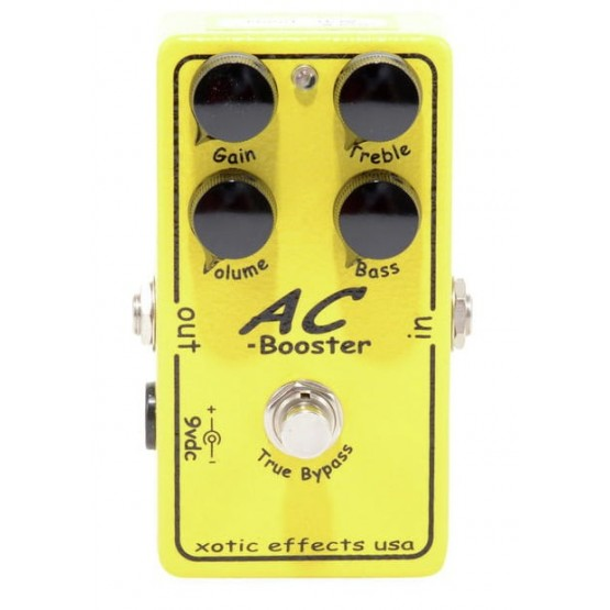 XOTIC AC BOOSTER V2 PEDAL
