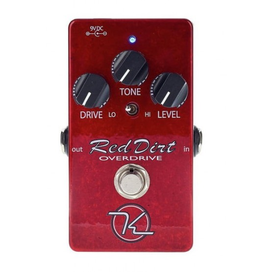 KEELEY RED DIRT OVERDRIVE PEDAL GUITARRA