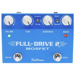 FULLTONE FULL DRIVE 2 MOSFET PEDAL OVERDRIVE BOOSTER