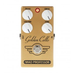 MAD PROFESSOR GOLDEN CELLO PEDAL OVERDRIVE CON DELAY
