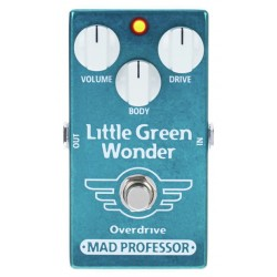 MAD PROFESSOR LITTLE GREEN WONDER PEDAL OVERDRIVE