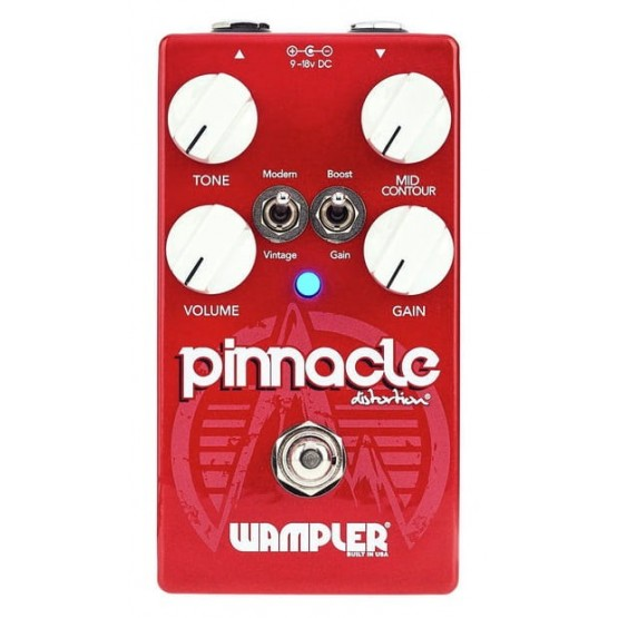 WAMPLER PINNACLE STANDARD OVERDRIVE DISTORTION PEDAL