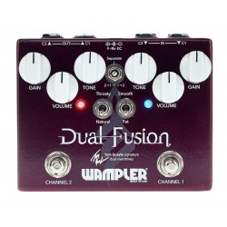 WAMPLER DUAL FUSION TOM QUAYLE PEDAL OVERDRIVE
