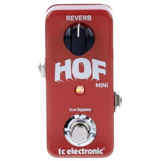 TC ELECTRONIC HALL OF FAME MINI REVERB PEDAL.