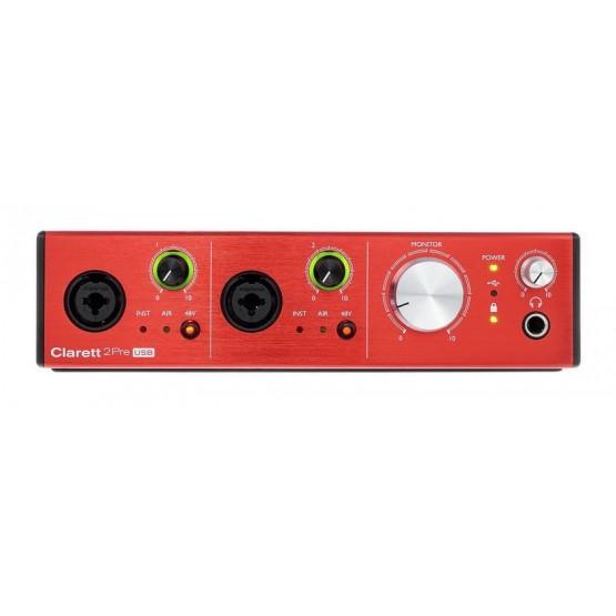 FOCUSRITE CLARETT2 PRE USB INTERFAZ DE AUDIO. NOVEDAD