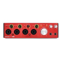 FOCUSRITE CLARETT4 PRE USB INTERFAZ DE AUDIO