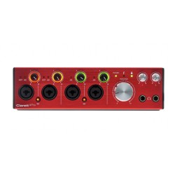 FOCUSRITE CLARETT4 PRE INTERFAZ DE AUDIO THUNDERBOLT