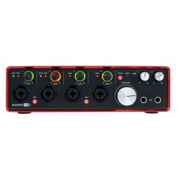 FOCUSRITE SCARLETT 18i8 2ND GENERATION INTERFAZ AUDIO USB