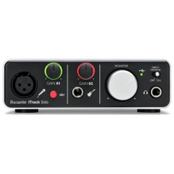 FOCUSRITE ITRACK SOLO INTERFAZ DE AUDIO PARA PC IPAD