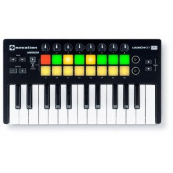 NOVATION LAUNCHKEY MINI MK2 TECLADO CONTROLADOR MIDI