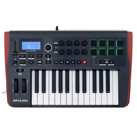 NOVATION IMPULSE 25 TECLADO CONTROLADOR