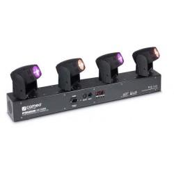 CAMEO HB400RGBW HYDRABEAM SET 4 CABEZAS MOVILES LED RGBW 10W