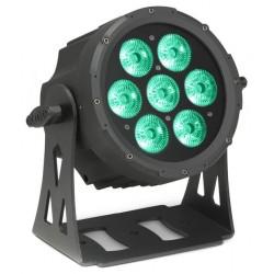 CAMEO CLPFLATPRO7IP65 FOCO OUTDOOR PAR LED RGBWA PLANO 7X10W