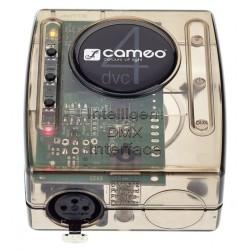 CAMEO DVC4 INTERFAZ DMX 512 CANALES Y SOFTWARE
