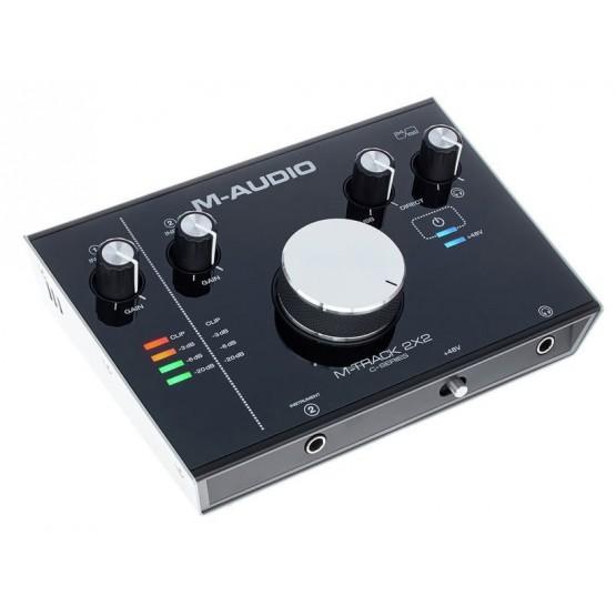 M AUDIO MTRACK2X2 INTERFAZ AUDIO USB HUB