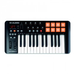 M AUDIO OXYGEN25 IV TECLADO CONTROLADOR MIDI USB