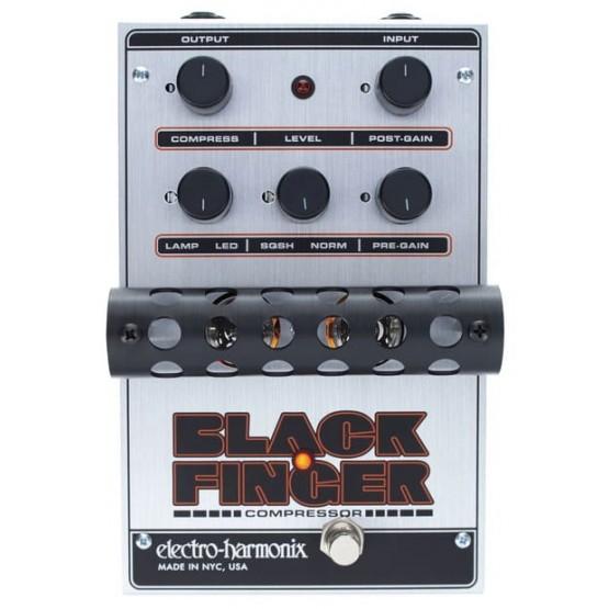 ELECTRO HARMONIX BLACK FINGER PEDAL COMPRESOR