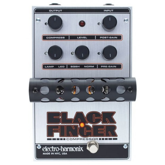 ELECTRO HARMONIX BLACK FINGER PEDAL COMPRESOR. DEMO.