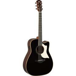 YAMAHA A3R ARE BLK GUITARRA ELECTROACUSTICA DREADNOUGHT NEGRA