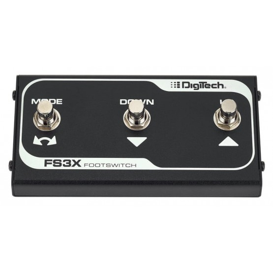 DIGITECH FS3X PEDAL INTERRUPTOR 3 FUNCIONES