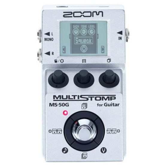 ZOOM MS50G PEDAL MULTIEFECTOS GUITARRA