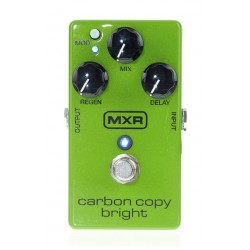 DUNLOP M269SE MXR CARBON BRIGHT PEDAL DELAY ANALOGICO.