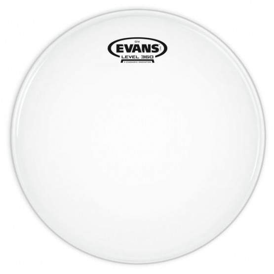 EVANS B16G14 PARCHE TOM/CAJA G14 COATED BLANCO RUGOSO