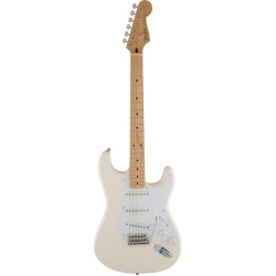 FENDER JIMMIE VAUGHAN TEX MEX STRATOCASTER MN GUITARRA ELECTRICA OLYMPIC WHITE
