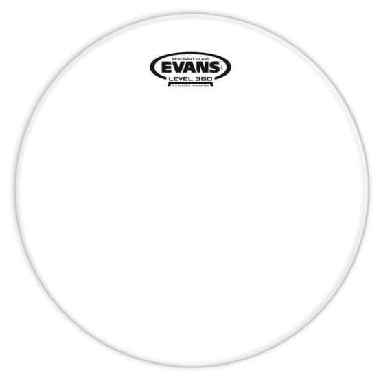 EVANS TT13RGL PARCHE TOM GENERA RESONANT GLASS RESONANTE TOMS EXTRA FINO - 13