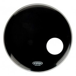 EVANS BD20RB EQ3 RESONANT BLACK PARCHE 20 PULGADAS NEGRO