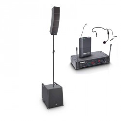 LD SYSTEMS -PACK- INSTALACION ESCUELAS GIMNASIOS CURV500ES + LD ECO16BPH