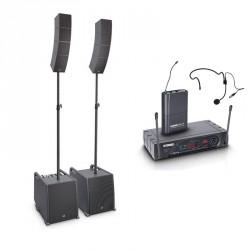 LD SYSTEMS -PACK- INSTALACION ESCUELAS GIMNASIOS CURV500PS + LD ECO16BPH