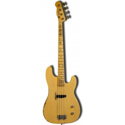 FENDER DUSTY HILL PRECISION BASS NOCASTER MN BAJO ELECTRICO BLONDE