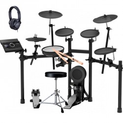 ROLAND -PACK- TD17KL BATERIA ELECTRONICA+ PEDAL BOMBO+ ASIENTO+ AURICULARES Y BAQUETAS
