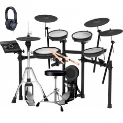 ROLAND -PACK- TD17KVX BATERIA ELECTRONICA+PEDAL BOMBO+ PEDAL HIHAT+ ASIENTO+AURICULARES Y BAQUETAS