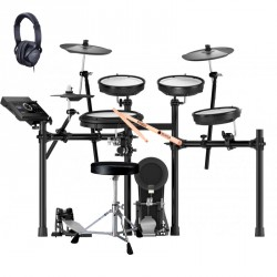 ROLAND -PACK- TD17KV BATERIA ELECTRONICA+ PEDAL BOMBO+ ASIENTO+ AURICULARES Y BAQUETAS