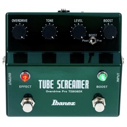 IBANEZ TS808DX TUBE SCREAMER PEDAL OVERDRIVE Y BOOSTER