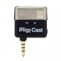 IK MULTIMEDIA IRIG MIC CAST MICROFONO PODCAST PARA IPHONE IPOD TOUCH IPAD Y ANDROID