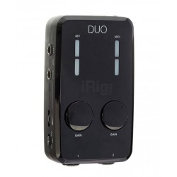 IK MULTIMEDIA IRIG PRO DUO INTERFAZ AUDIO MIDI 2X2 PARA IOS ANDROID Y ORDENADOR