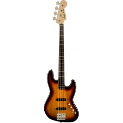 SQUIER DELUXE JAZZ BASS IV ACTIVE EB BAJO ELECTRICO 3 COLORES SUNBURST