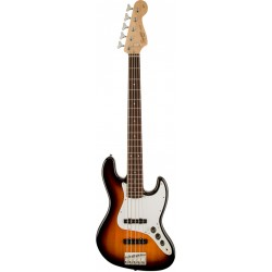 SQUIER AFFINITY JAZZ BASS V RW BAJO ELECTRICO 5 CUERDAS BROWN SUNBURST