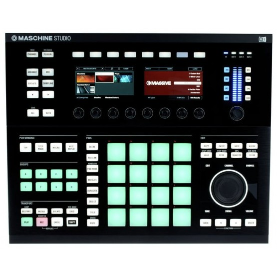 NATIVE INSTRUMENTS MASCHINE STUDIO PRODUCCION MUSICAL NEGRO
