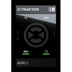 NATIVE INSTRUMENTS TRAKTOR AUDIO 2 MK2 DJ INTERFACE DE AUDIO
