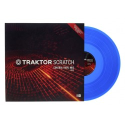 NATIVE INSTRUMENTS BLUE VINILO AZUL V2 PARA TRAKTOR SCRATCH PRO 2