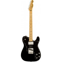 SQUIER VINTAGE MODIFIED TELECASTER CUSTOM MN GUITARRA ELECTRICA NEGRA